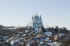 Assumption Cathedral in Smolensk. Royalty Free Stock Photography