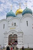 Assumption Cathedral in Trinity Sergius Lavra. Russia Stock Photography