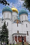 Assumption Cathedral in Trinity Sergius Lavra. Russia Stock Images