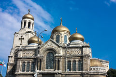 The Assumption Cathedral , Varna, Bulgaria Royalty Free Stock Image