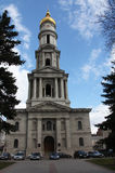 Assumption Cathedral. View of Assumption Cathedral in Kharkov city Stock Photo
