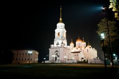 Assumption Cathedral in Vladimir Stock Photos