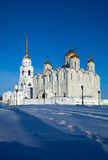 Assumption cathedral  at Vladimir. In winter  (constructed between 1158�1160. Russia Stock Images