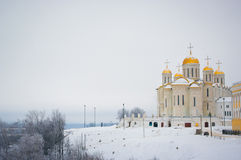 Assumption cathedral in Vladimir Stock Images