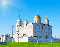 Assumption cathedral at Vladimir Royalty Free Stock Photo