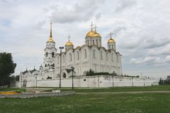 Assumption Cathedral in Vladimir. City of the Golden ring Russia Royalty Free Stock Image