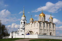 Assumption cathedral at Vladimir. City, Russia Royalty Free Stock Photos