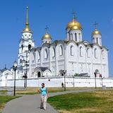 Assumption Cathedral in Vladimir. City of Vladimir, Russia, Orthodoxy, religion, history Stock Image