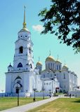 Assumption Cathedral in Vladimir. City of Vladimir, Russia, Orthodoxy, religion, history Royalty Free Stock Image