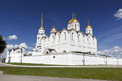 Assumption Cathedral in Vladimir. Golden ring. Russia Stock Photos