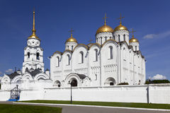 Assumption Cathedral in Vladimir. Golden ring. Russia Royalty Free Stock Photography