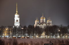 Assumption Cathedral in Vladimir. Royalty Free Stock Photo