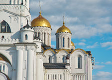 Assumption cathedral. Vladimir,. Golden ring of Russia Stock Images