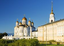 Assumption Cathedral in Vladimir. Golden Ring of Russia.  Royalty Free Stock Photography