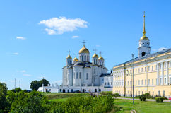 Assumption Cathedral, Vladimir, Golden Ring of Russia Stock Photography