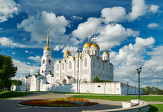 Assumption cathedral. Vladimir,. Golden ring of Russia. June 22, 2017 Royalty Free Stock Image