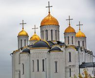 Assumption cathedral in Vladimir, Russia. stock photography