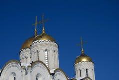 Assumption cathedral in Vladimir, Russia. UNESCO World Heritage Site. Popular touristic landmark Stock Images