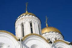 Assumption cathedral in Vladimir, Russia. UNESCO World Heritage Site. Popular touristic landmark Royalty Free Stock Image