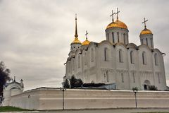 Assumption cathedral in Vladimir, Russia. royalty free stock photography