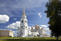 Assumption cathedral at Vladimir.Russia. Assumption Cathedral in Vladimir is a monument of the Russian architecture of the XII century Stock Images