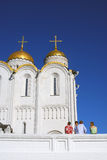 Assumption cathedral in Vladimir, Russia. Stock Images