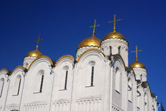 Assumption cathedral in Vladimir, Russia. Royalty Free Stock Image