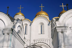 Assumption cathedral in Vladimir, Russia. Stock Photos