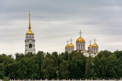 The Assumption Cathedral in Vladimir, Russia. Travel Royalty Free Stock Photography