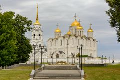 The Assumption Cathedral in Vladimir, Russia. Travel Stock Images
