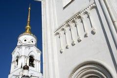Assumption cathedral in Vladimir, Russia. UNESCO World Heritage Site. Popular touristic landmark Stock Photo