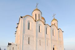 Assumption Cathedral - Vladimir, Russia. Assumption cathedral in Vladimir, Russia in the winter Stock Images