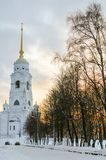 Assumption Cathedral - Vladimir, Russia. Assumption cathedral in Vladimir, Russia in the winter Royalty Free Stock Photos