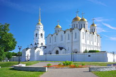 Assumption cathedral at Vladimir in summer, Russia Stock Photos
