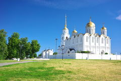 Assumption cathedral at Vladimir in summer, Russia Stock Images