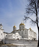 Assumption cathedral at Vladimir in winter. Russia Royalty Free Stock Photo