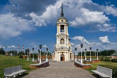 Assumption Cathedral in Voronezh Royalty Free Stock Image