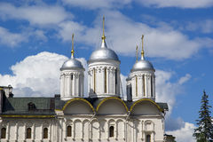 Assumption Cathedral (was the site of coronation of Russian tsars), Moscow Kremlin Royalty Free Stock Photos