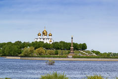 The Assumption Cathedral, Yaroslavl Stock Photography