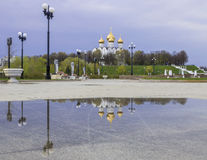 Assumption Cathedral in Yaroslavl, Russia Stock Photo