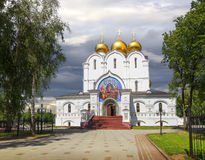 Assumption Cathedral in Yaroslavl. Russia. Stock Images
