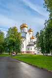 Assumption Cathedral in Yaroslavl Stock Photography