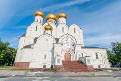 Assumption Cathedral in Yaroslavl Royalty Free Stock Photography