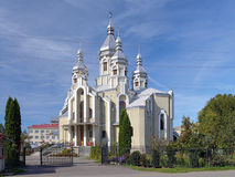 Assumption Church in Drohobych, Ukraine royalty free stock photo
