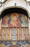 Assumption church facade. Moscow Kremlin. Royalty Free Stock Images
