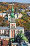 Assumption Church, Lviv, Ukraine Royalty Free Stock Images