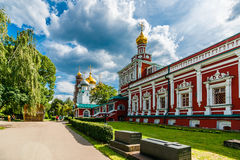 Assumption church with the refectory Royalty Free Stock Photo