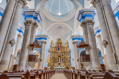 Assumption church shrine at Calaceite, Spain Royalty Free Stock Photography