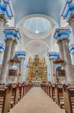 Assumption church shrine at Calaceite, Spain Royalty Free Stock Photos