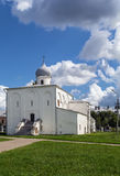Assumption Church at the Trade Courtyard, Veliky Novgorod Royalty Free Stock Photography